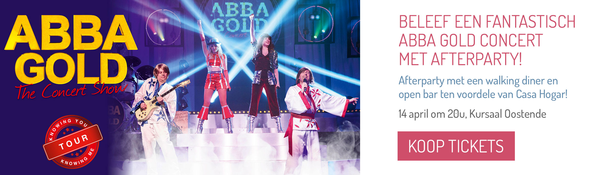 Abba Gold 2020 + afterparty, Kursaal Oostende